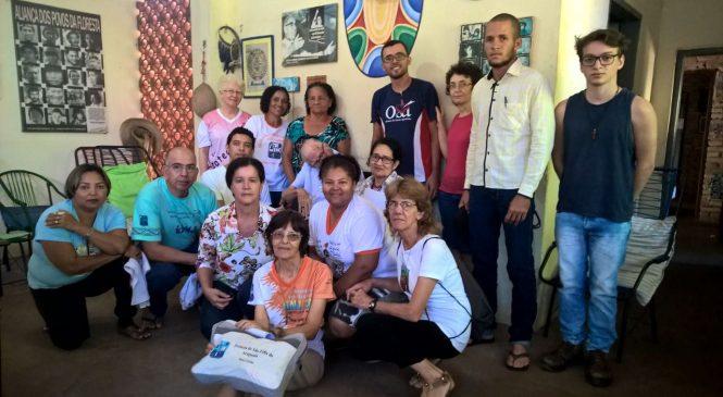 Após benção de Dom Pedro, jovens saem em missão preparando o 14 regional