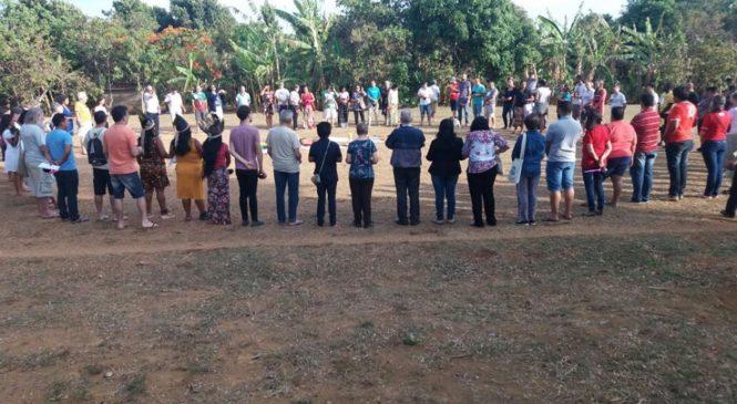 """""""Diga ao povo que avance. Avançaremos!""""  XXII Assembleia Geral do Conselho Indigenista Missionário (CIMI)."""