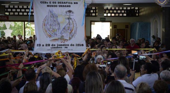 Missa em Ação de Graças pelo 14º Intereclesial das CEBs -Santuário de Aparecida- Londrina Pr