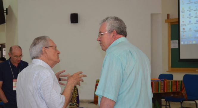Dom Geremias no  Encontro de Assessores e Assessoras para o Intereclesial das CEBs.