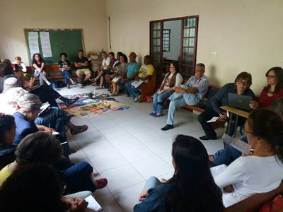 Ampliada Estadual das CEBs Regional Leste II Minas Gerais. Diante dos desafios  ser protagonista da Esperança.