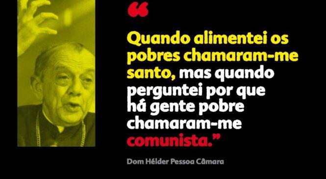 O Congresso Nacional declara Dom Helder Câmara Patrono dos Direitos Humanos. Luis Miguel Modino