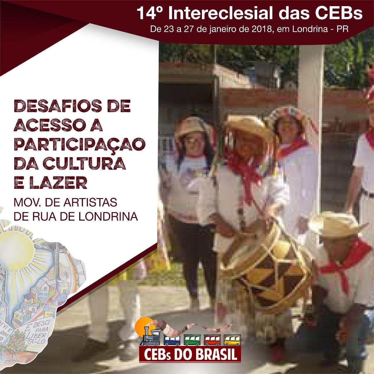 Desafios de acesso a participação da Cultura e lazer – VER/JULGAR