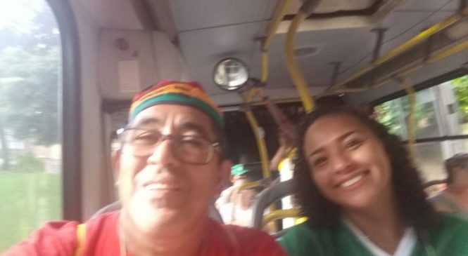 Regional Oeste 2 chegou, bem acolhidos pelas famílias de Londrina