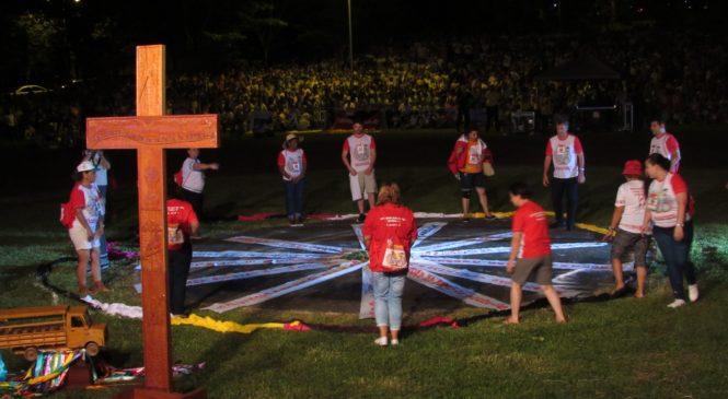 Londrina acolhe, numa celebração carregada de simbolismo, os participantes do 14° Intereclesial