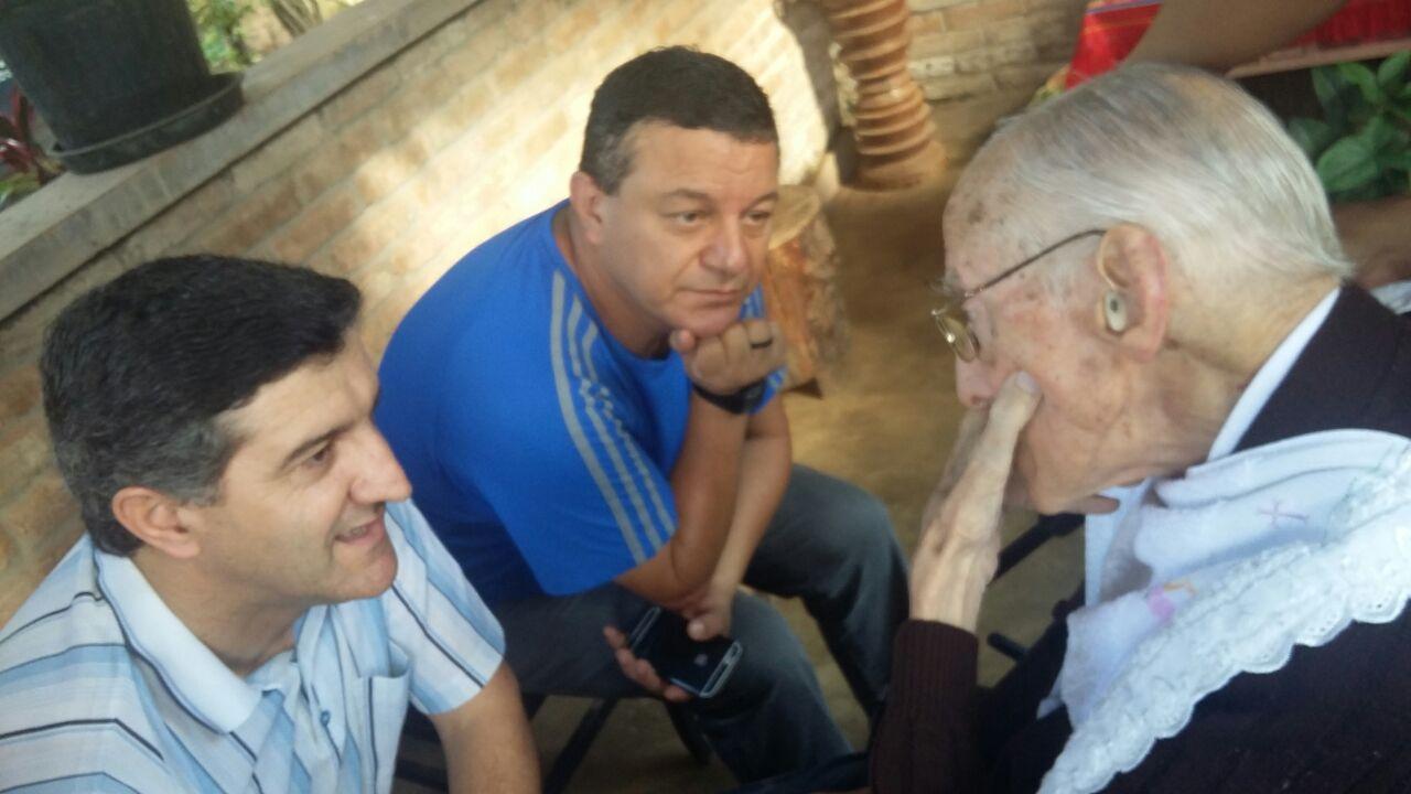 Dom Pedro recebe visita de lideranças claretianas do Brasil e exterior