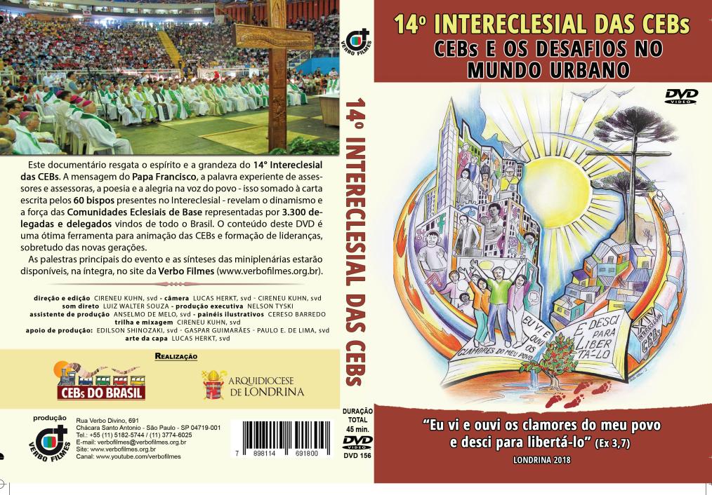 ASSISTA DVD do 14º Intereclesial das CEBs do Brasil Verbo Filmes