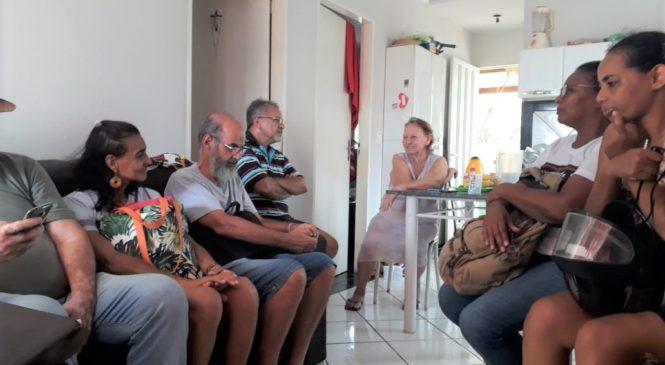 """Em Cuiabá, lideranças visitam famílias. É a """"Igreja em saída"""""""