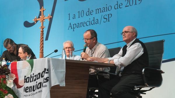 DOM ROQUE, PRESIDENTE DO CIMI, FALA SOBRE A QUESTÃO INDÍGENA À ASSEMBLEIA GERAL DA CNBB