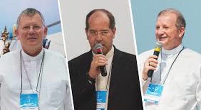 Três bispos sensíveis aos apelos do Papa Francisco na Presidência da CNBB