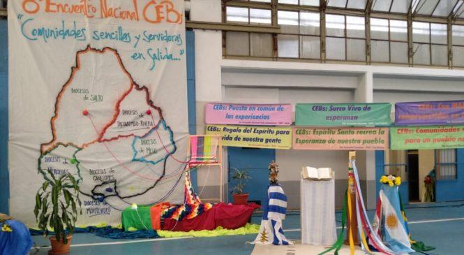 "8º Encontro das Comunidades Eclesiais de Base do Uruguai.  ""Comunidades sencillas y servidoras em salida!"
