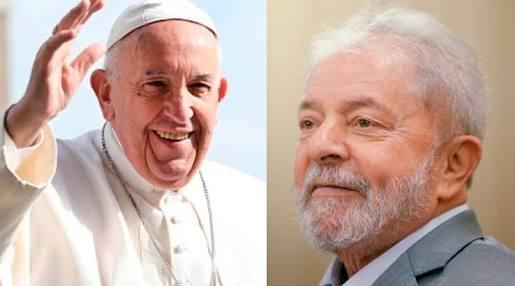 """""""Quero lhe manifestar minha proximidade espiritual e lhe encorajar"""", diz Francisco em carta a Lula"""