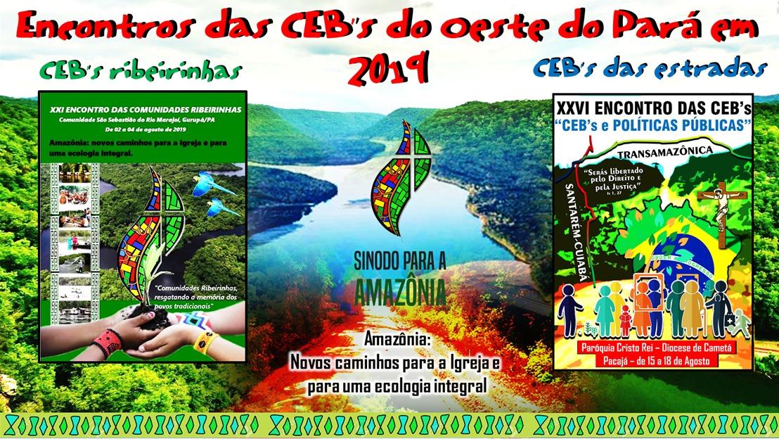 CEBs/Oeste do Pará organizam encontros sobre ecologia integral e políticas públicas