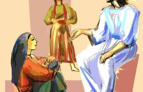 Martas e Marias na Igreja e no mundo .No discipulado, o que é essencial?