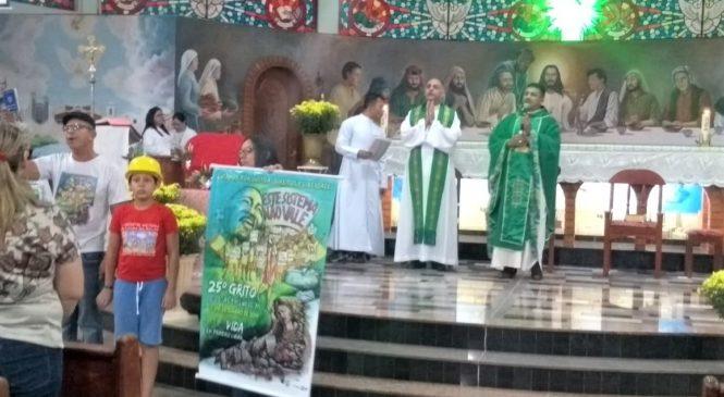 Protesto e espiritualidade unem entidades no Grito d@s Excluíd@s em Cuiabá/MT