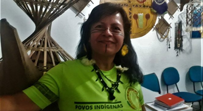 """""""Criar políticas públicas, é fundamental para que os indígenas continuem existindo, principalmente nas cidades"""". Entrevista com Marcivana Sateré, auditora do Sínodo."""