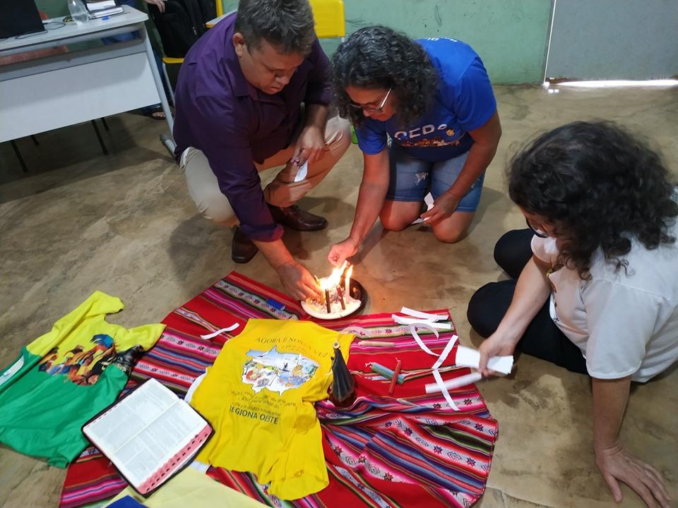 CEBs MT: Equipe de Barra do Garças faz reunião em Ponte Branca e participa de procissão