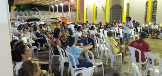 Lideranças de comunidade participam de formação sobre Sínodo em Cuiabá/MT