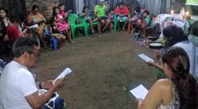 Comunidade Santa Luzia, em Ananindeua (PA), organiza Círculo Bíblico sobre Sínodo