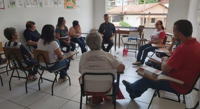 Reunião da Equipe de Articulação das CEBs de Guanhães-MG