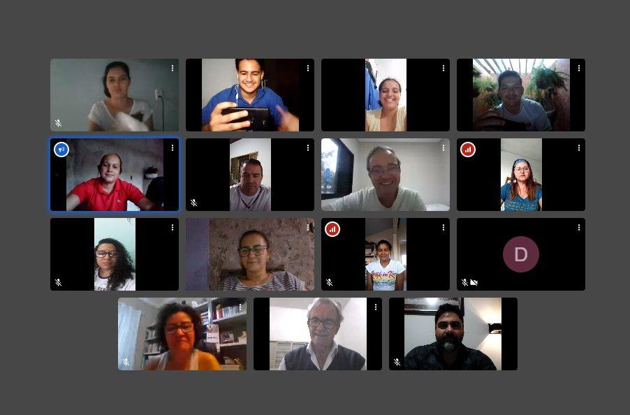 Secretariado do 15º Intereclesial reúne equipe local de comunicação