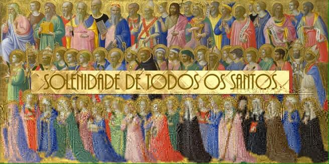 Reflexões da Palavra   Solenidade de Todos os Santos   Ano A
