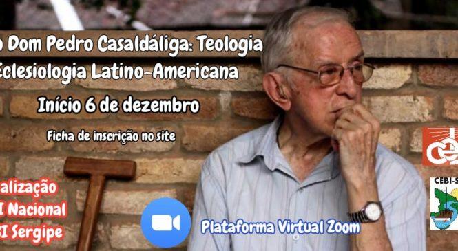 CEBI promove curso de Teologia sobre as causas e a obra de Dom Pedro Casaldáliga