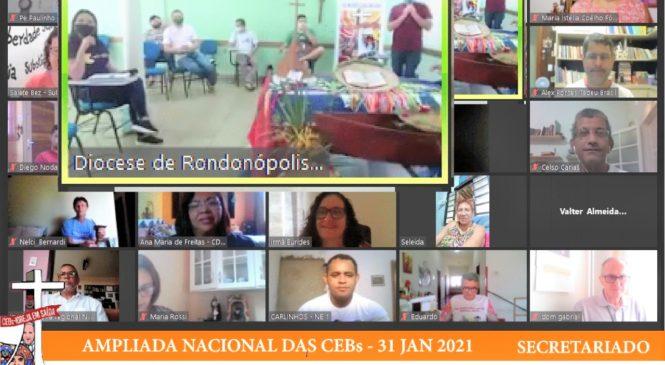 AMPLIADA DAS CEBs do BRASIL:  A força da pequena semente!