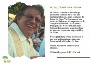 Nota do Regional Sul 2 pela Páscoa de Padre Nelito