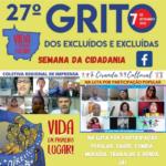 Com Coletiva de Imprensa e Ciranda Cultural, MT abre a Semana da Cidadania do 27º Grito dos Excluídos e das Excluídas