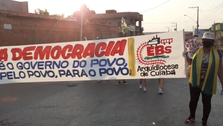 CEBS DO MT PARTICIPAM DO GRITO DOS EXCLUÍDOS E DAS EXCLUÍDAS