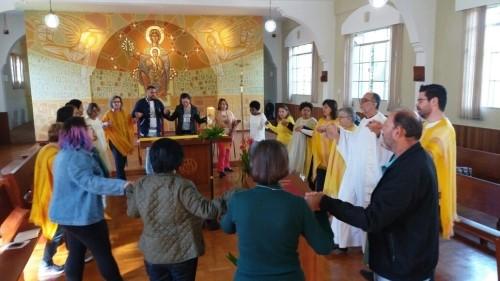 Oficina aplicada de liturgia e animação