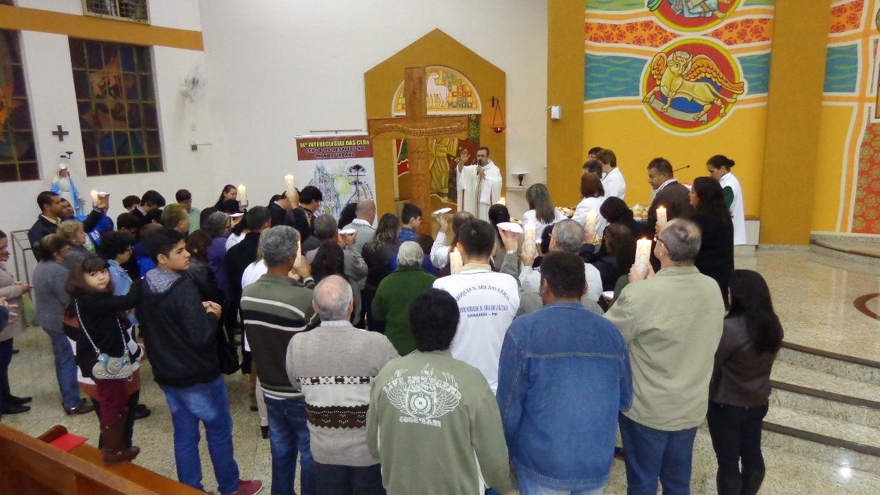 Peregrinação do Ícones do 14° Intereclesial das CEBs do Brasil