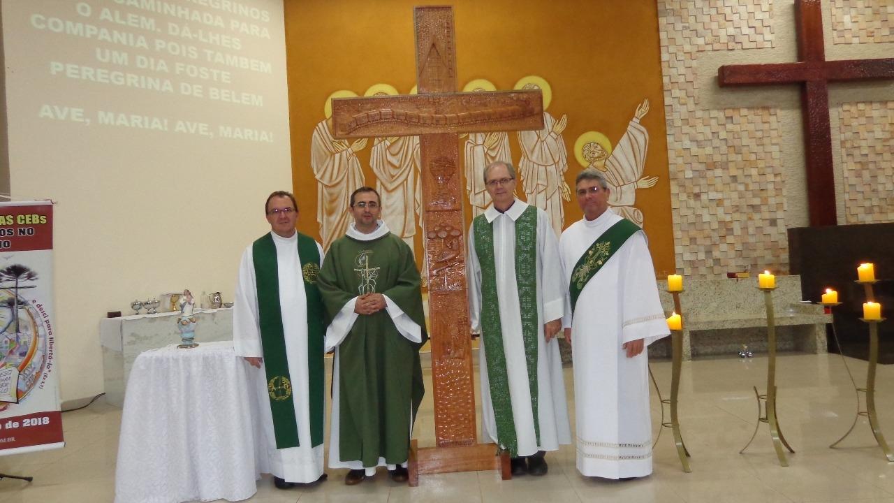 Região Pastoral Nossa Senhora Aparecida acolhe os Ícones do 14° Intereclesial das CEBs do Brasil