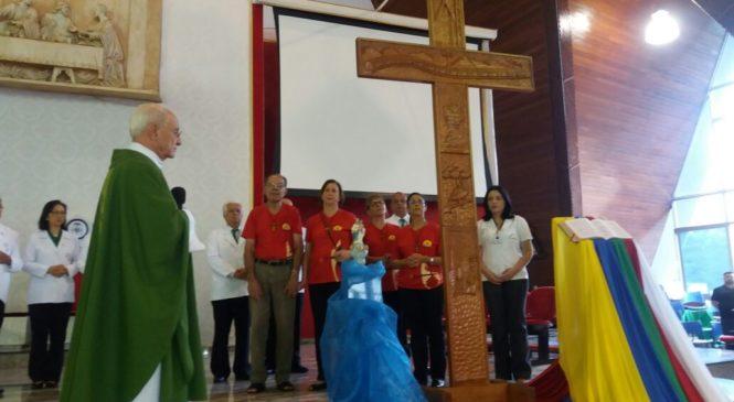 Ícones do 14º Intereclesial anunciam: O  trem das CEBs chegou!! Agora na Catedral Metropolitana