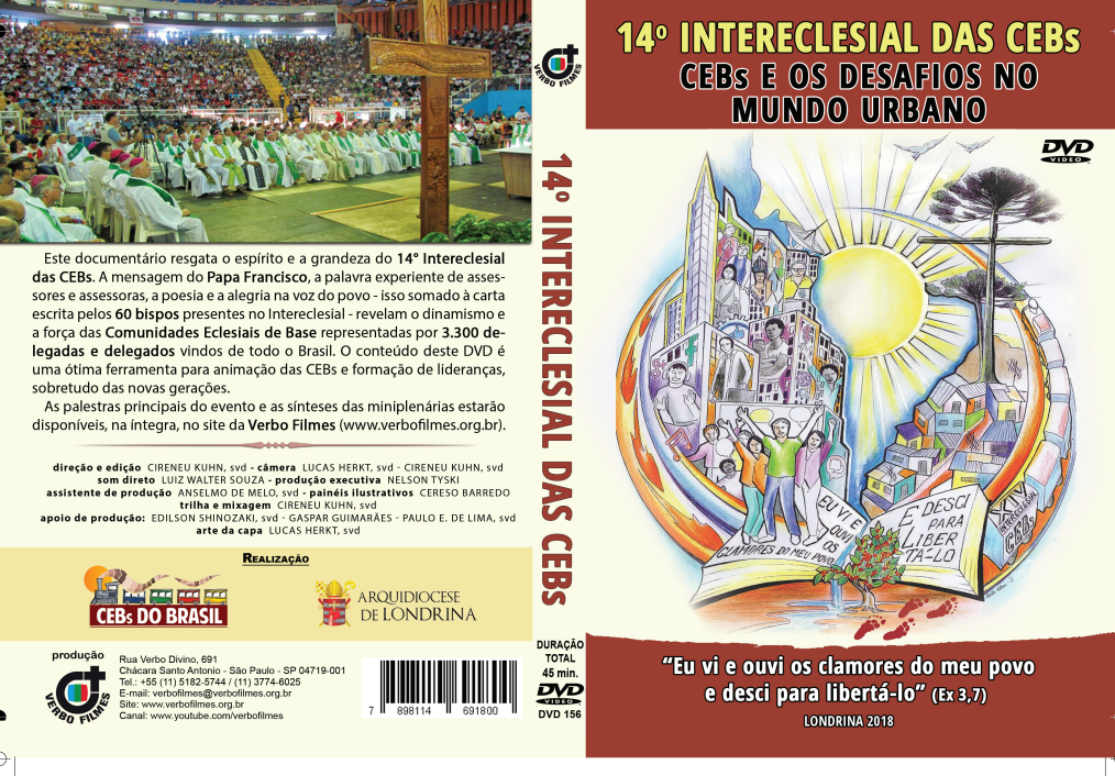 Verbo Filmes lança DVD do 14º Intereclesial das CEBs do Brasil