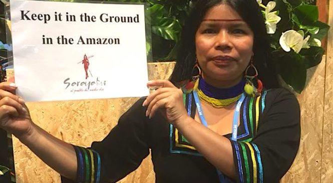 """""""A contribuição fundamental dos povos indígenas para a humanidade é uma nova forma de relacionamento com a natureza"""", entrevista com Patrícia Gualinga"""