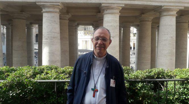 """Com suas palavras, o Papa Francisco, tem me dado um """"incentivo para falar aquilo que eu sinto"""", afirma Dom Flavio Giovenale"""