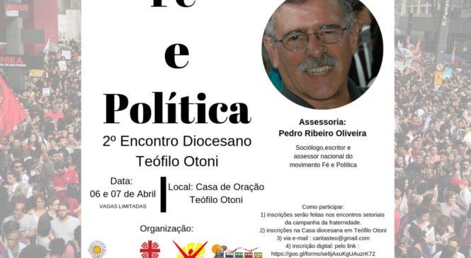 Encontro de Fé e Política em Teófilo Otoni-MG