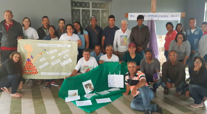 CEBs de Taiobeiras-MG realiza estudo da CF 2020