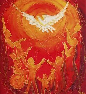 """PENTECOSTES: """"somos terras do Espírito"""""""