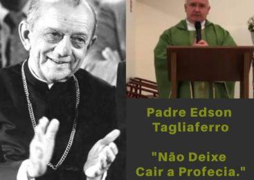 """EDSON ADÉLIO TAGLIAFERRO, """"NÃO DEIXE CAIR A PROFECIA"""""""