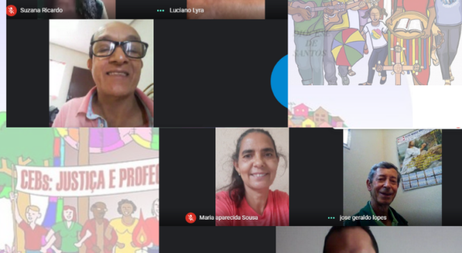 Microcentro 1 de Minas  faz reunião on-line