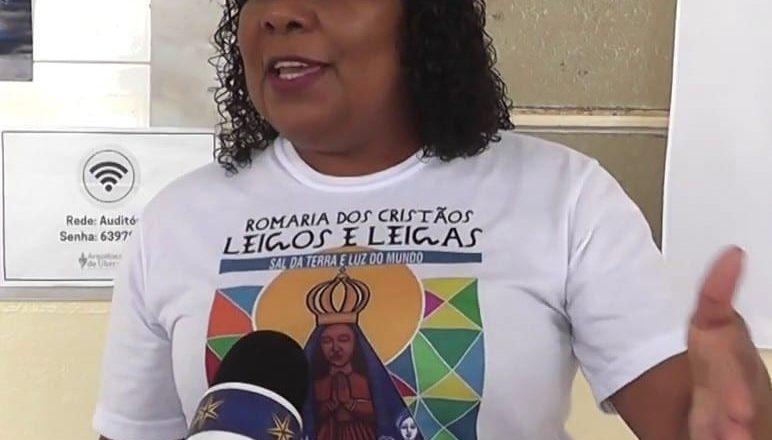 """""""Precisamos de leigos que consigam entender a sua missão enquanto sujeito eclesial"""". Entrevista com a presidenta do CNLB – Sônia Gomes de Oliveira"""
