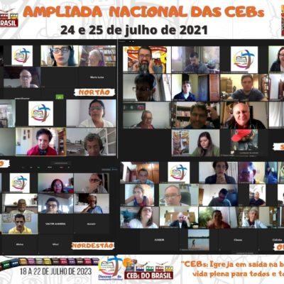 Aconteceu a Ampliada Nacional das CEBs: 24 e 25 de julho de 2021-modalidade remota