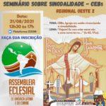 SEMINÁRIO SOBRE SINODALIDADE – CEBs REGIONAL OESTE 2