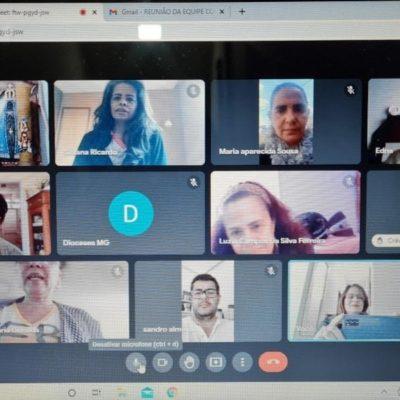 Reunião da equipe Colegiada das CEBs de Minas